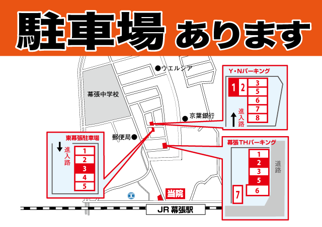 幕張北口整骨院の地図