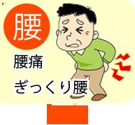 腰の痛み・腰痛・ぎっくり腰